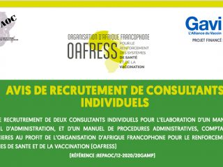 RECRUTEMENT OAFRESS-REPAOC